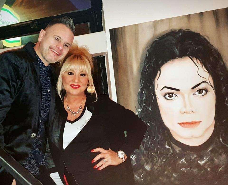 Fotó: Michael Jackson Art by Ferenc Tóth