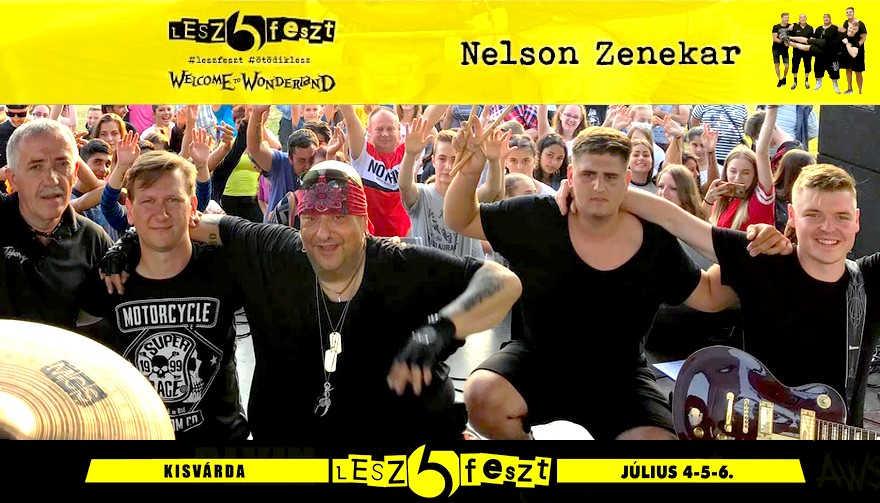 Lesz Feszt - Nelson zenekar koncert